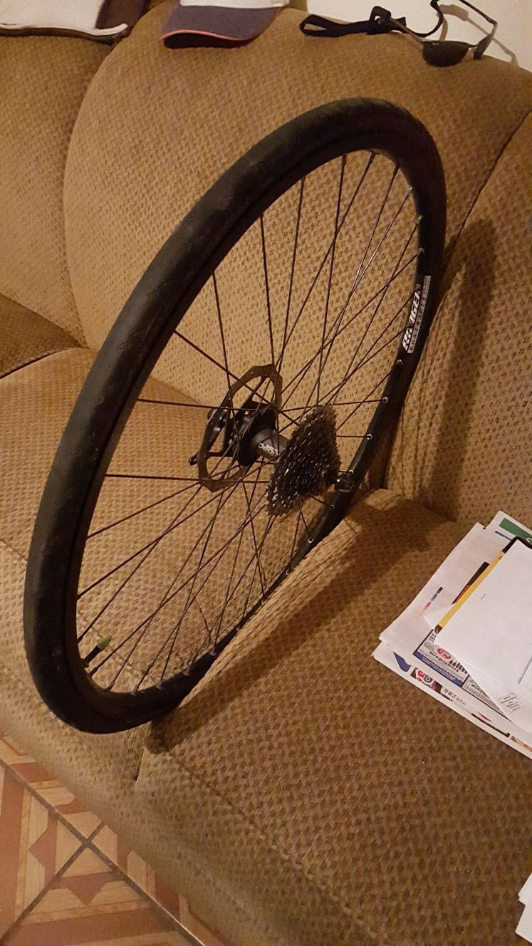 Rim and tires with disc 26 INCHES