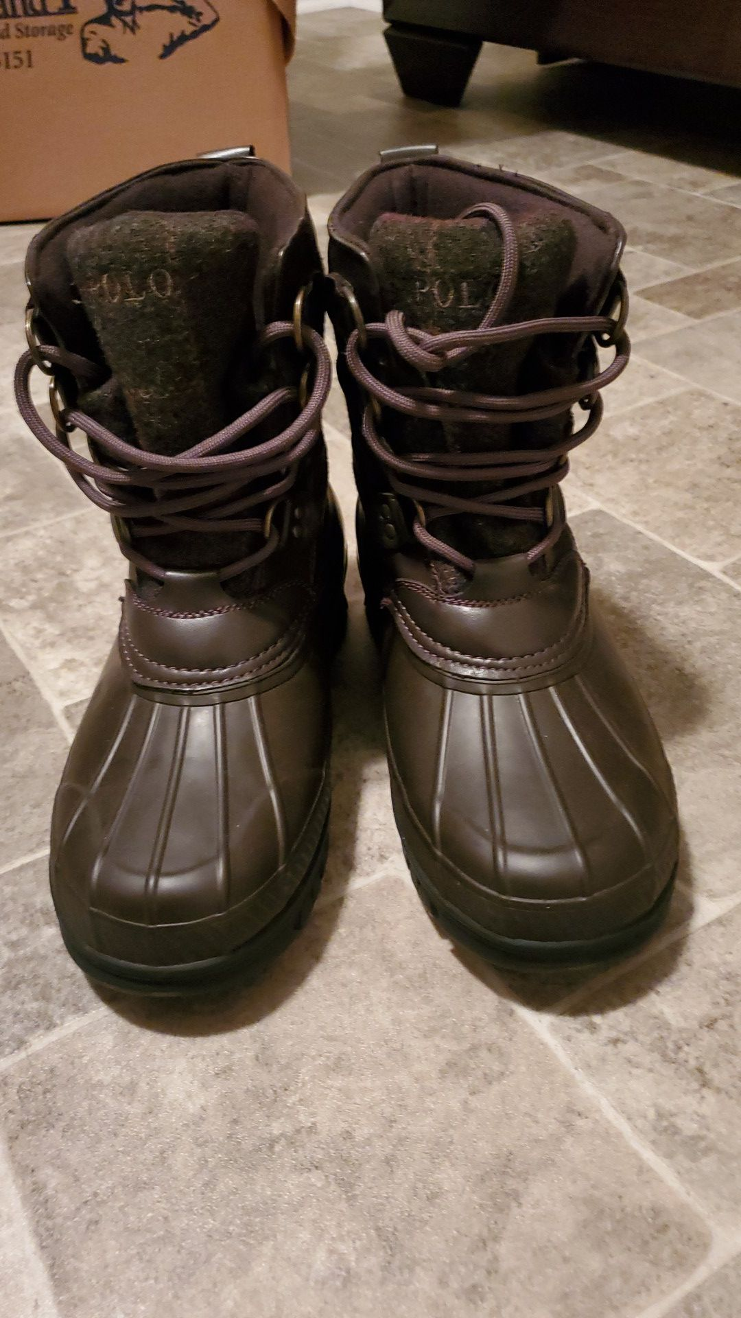 Brand New Ralph Lauren boots size 7y