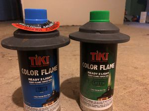 Colored Tiki Torch Fuel (blue and green) for Sale in Washington, DC