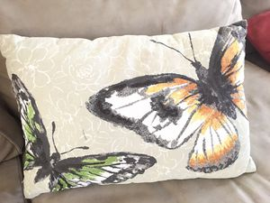 Butterfly decorative Throw Pillow 🦋 for Sale in Elgin, IL