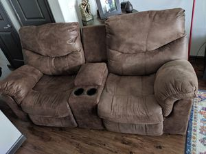 Astounding New And Used Reclining Couch For Sale In Round Rock Tx Short Links Chair Design For Home Short Linksinfo