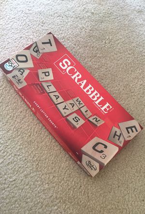 Scrabble crossword game, played only once. Great condition. No missing part. for Sale in Alexandria, VA