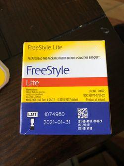 Freestyle Lite Test strips Thumbnail