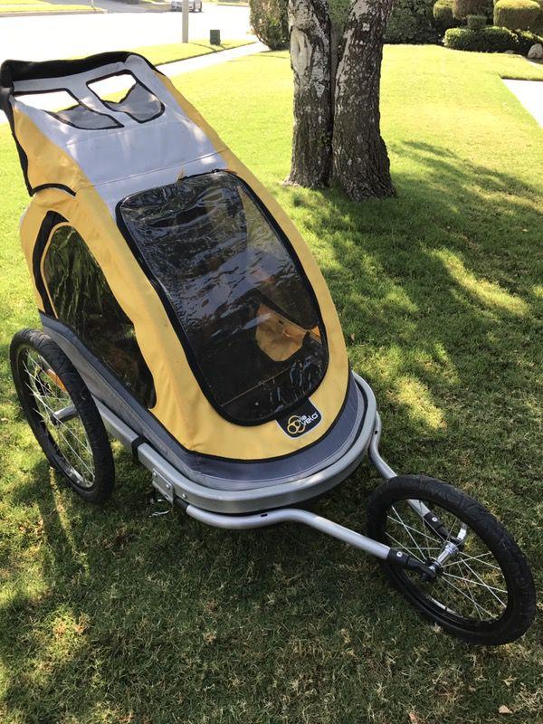 Via Velo Costco Jogging Stroller Or Bike Trailer For Sale
