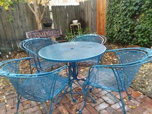 Woodard Patio Furniture 9 Pieces For In West Sacramento
