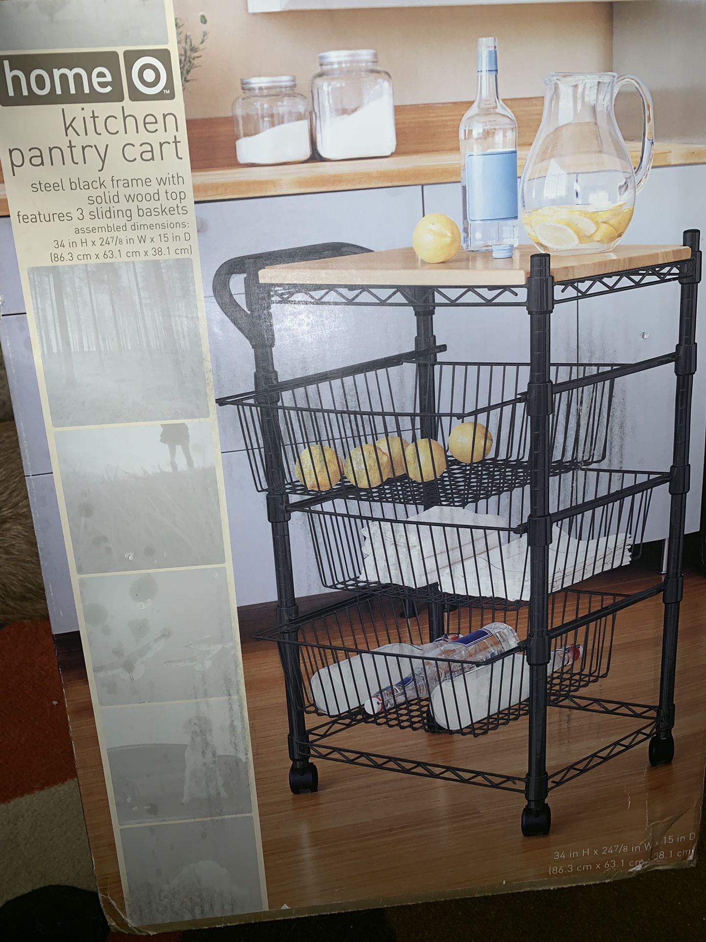 Kitchen Pantry Cart
