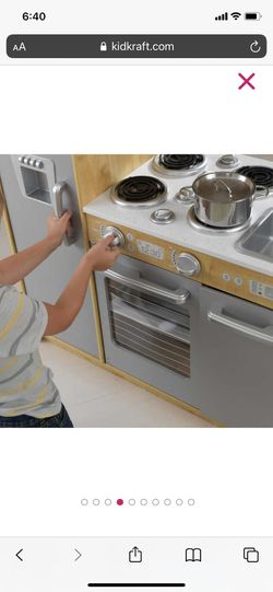Kidcraft - Kids UPTOWN NATURAL PLAY KITCHEN Thumbnail