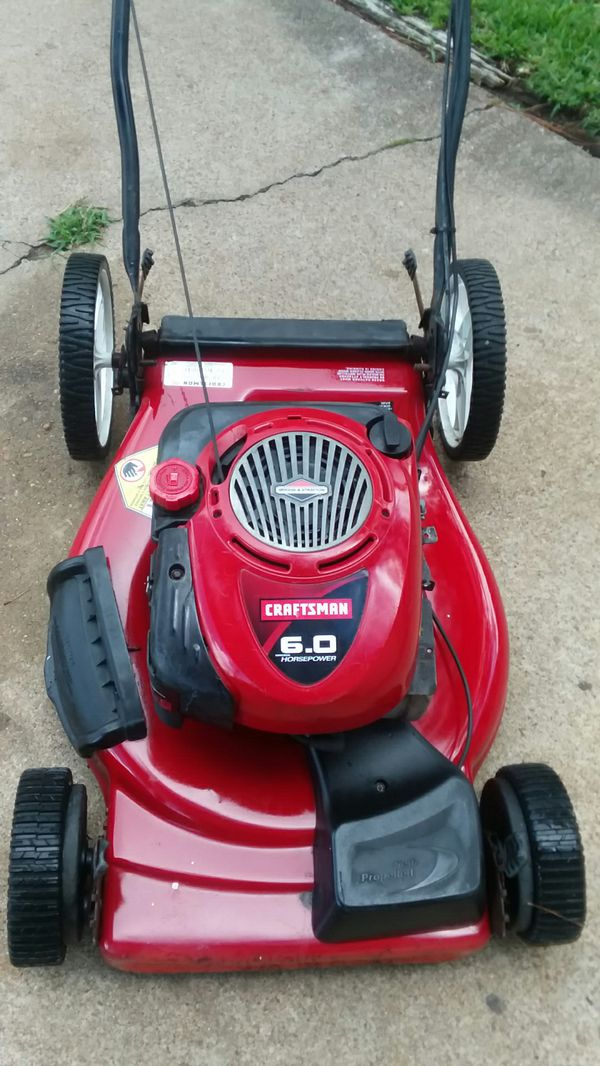 Craftsman 6 Hp Self Propelled Lawn Mower Home Garden In Missouri City Tx Offerup