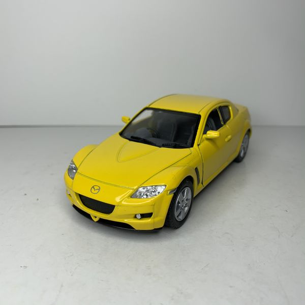 NEW Yellow Mazda RX-8 Japanese Sports Racing Car Toy RX8