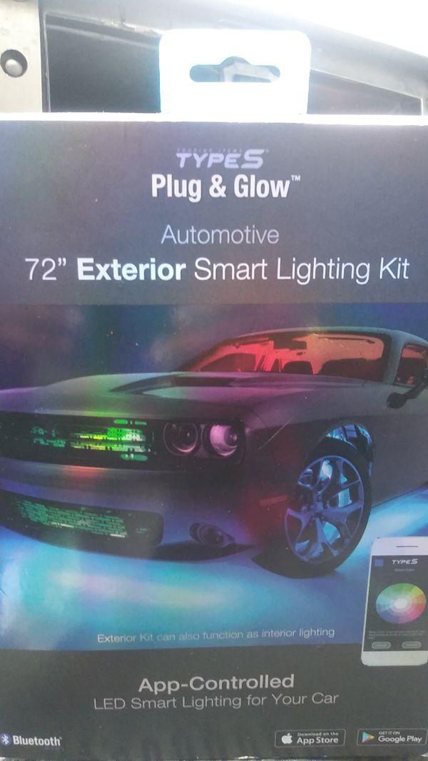 Types Plug And Glow Automotive 72 Exterior Smart Lighting Kit Richmond Ca
