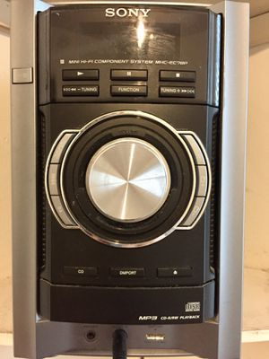 Sony mini hi-fi component system (stereo) for Sale in Crofton, MD