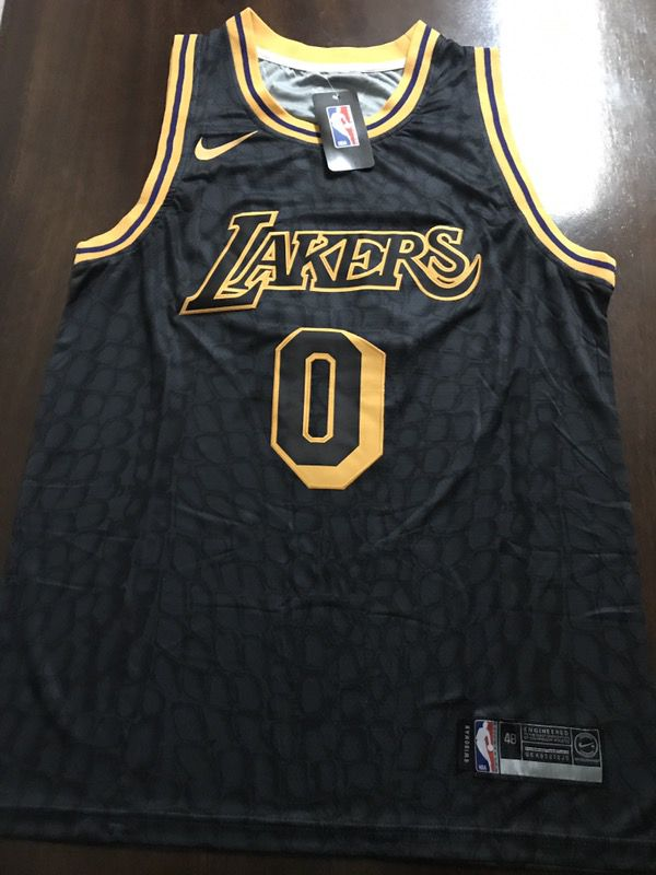 pretty nice 29bde dd6d5 Brand New Kyle Kuzma LA Lakers Los Angeles Black Mamba Style Very Rare  Statement City Nike Jersey Stitched Men Size S, M, L, XL for Sale in Los ...