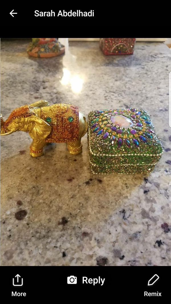 Indian Jewelry Box Elephant Accessories In Orland Park Il Offerup