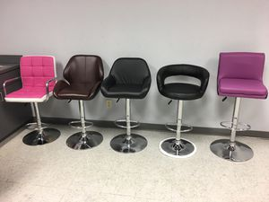 Adjustable bar stools counter height stools for Sale in Tampa, FL