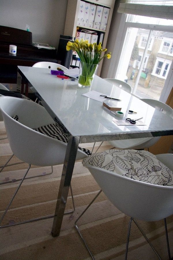 Ikea Torsby Tempered Gl Table W Chrome Legs