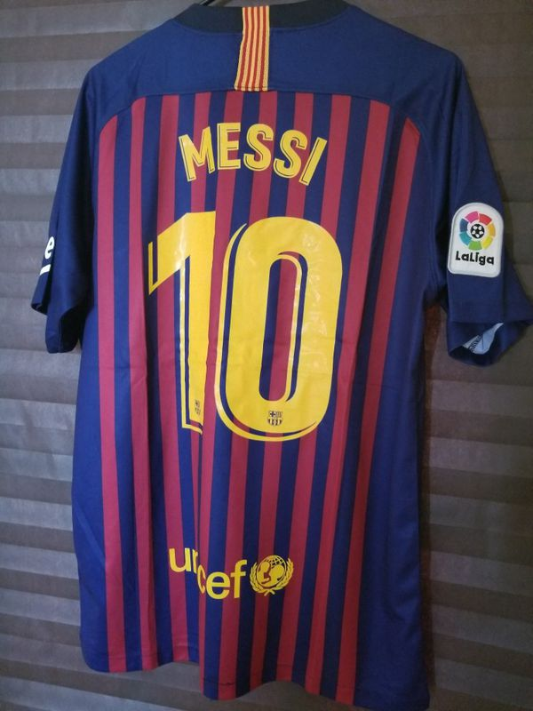 New 18 19 Club Barcelona Home Jersey  10 Messi for Sale in McAllen ... e2f17d732