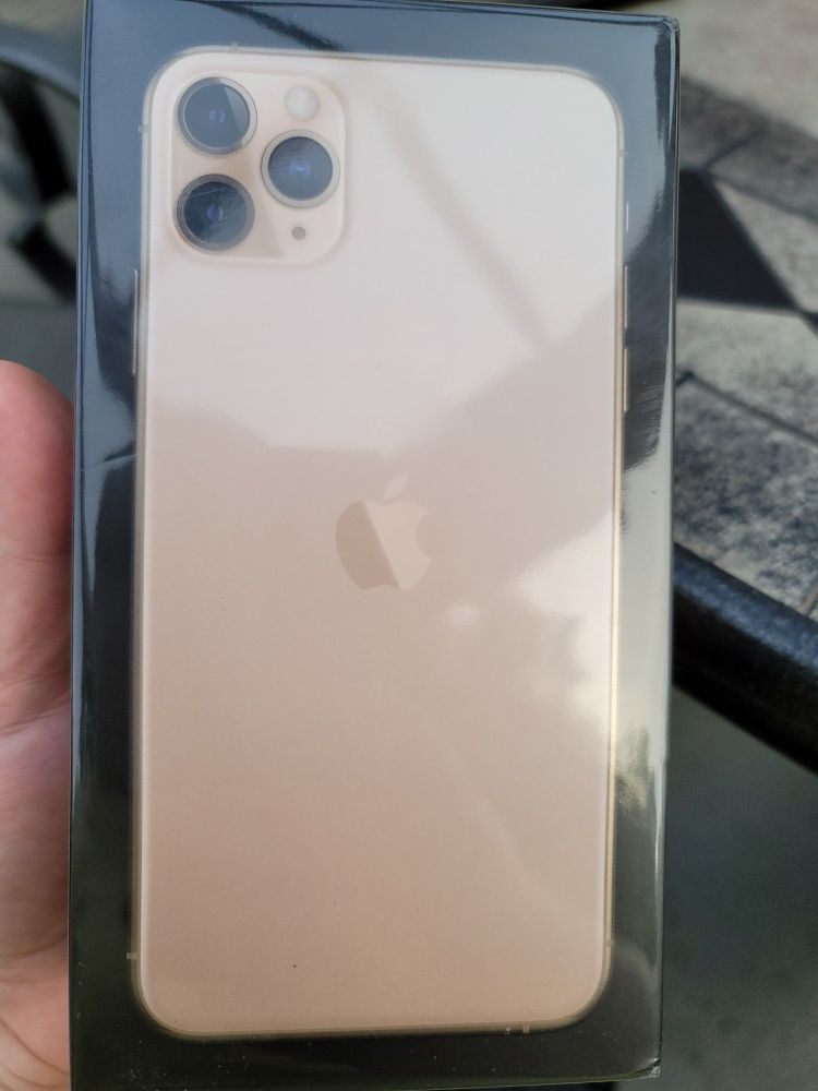IPhone 11 Promax 64gb gold new sealed box asking for $1000 T-mobile,Metro, UltraMobile, LycaMobile