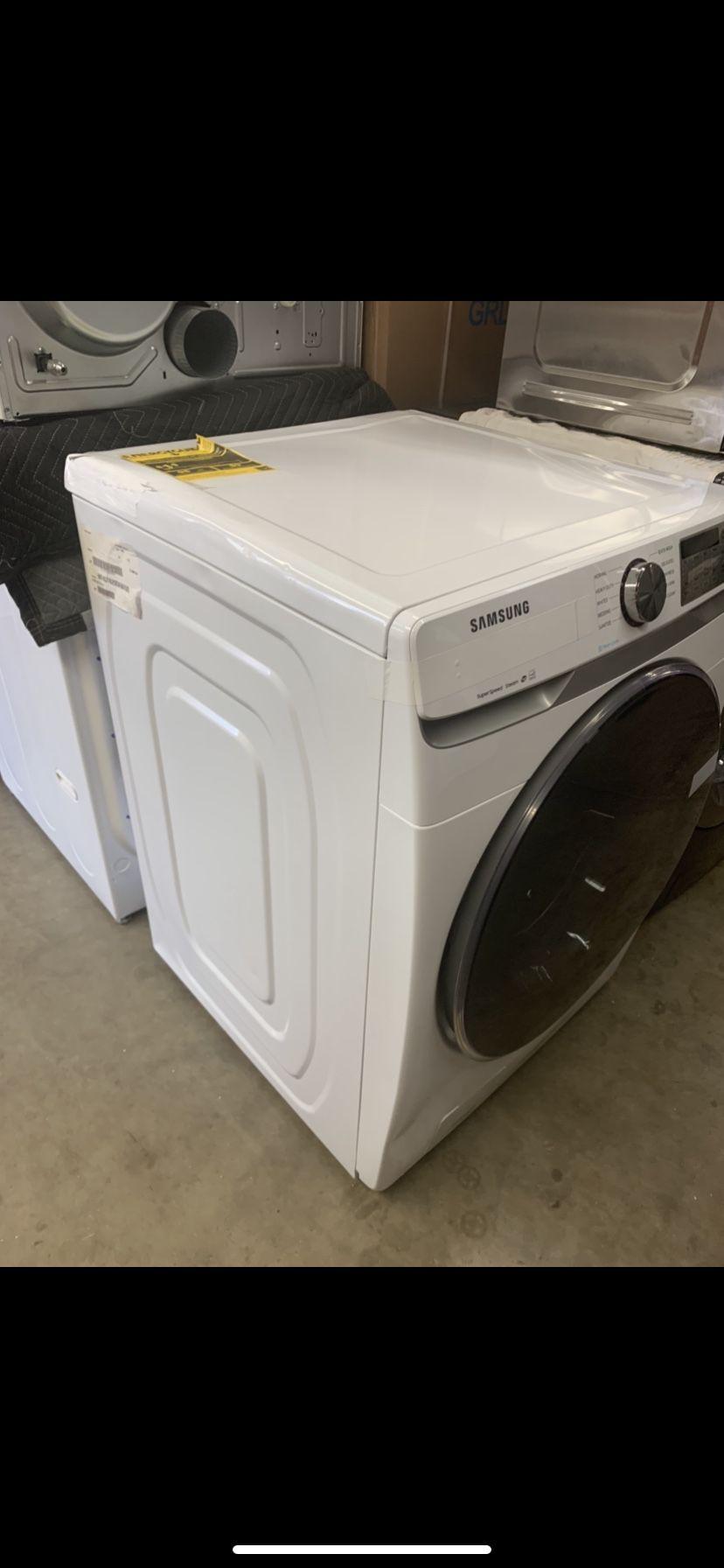 Washer Front Load Steam Samsung 4.5 Cu Ft White