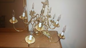 This is cleaning sale, chandeliers with bulbs clean no scratches. Perfect for bedroom and hall. Looks great in a hall for Sale in Montgomery Village, MD