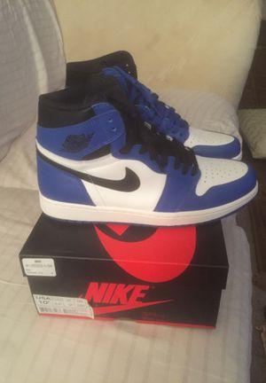 "Air Jordan 1 high og ""game royal"" size 10.5 for Sale in Aspen Hill, MD"