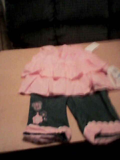 2 piece 24 month girl new