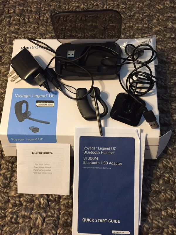 New Plantronics Voyager Legend Uc Wireless Bluetooth Headset For Sale In Matthews Nc Offerup