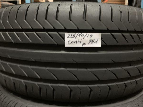 Continental Run Flat Tires >> 225 40 18 Continental Run Flat Tire For Sale In Buford Ga Offerup