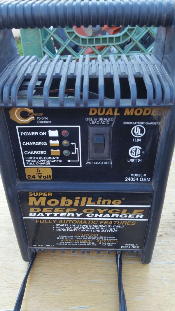 Cliplight 24 Volt 5 Amp Battery Charger 24054