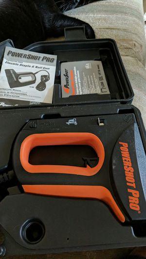 PowerShot Pro heavy duty Electric Staple & Nail Gun for Sale in Lanham, MD