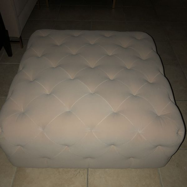 Brand New Ottoman Quilted Beige For Sale In Miami Fl Offerup