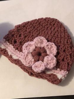Baby hat boot set crochet Thumbnail