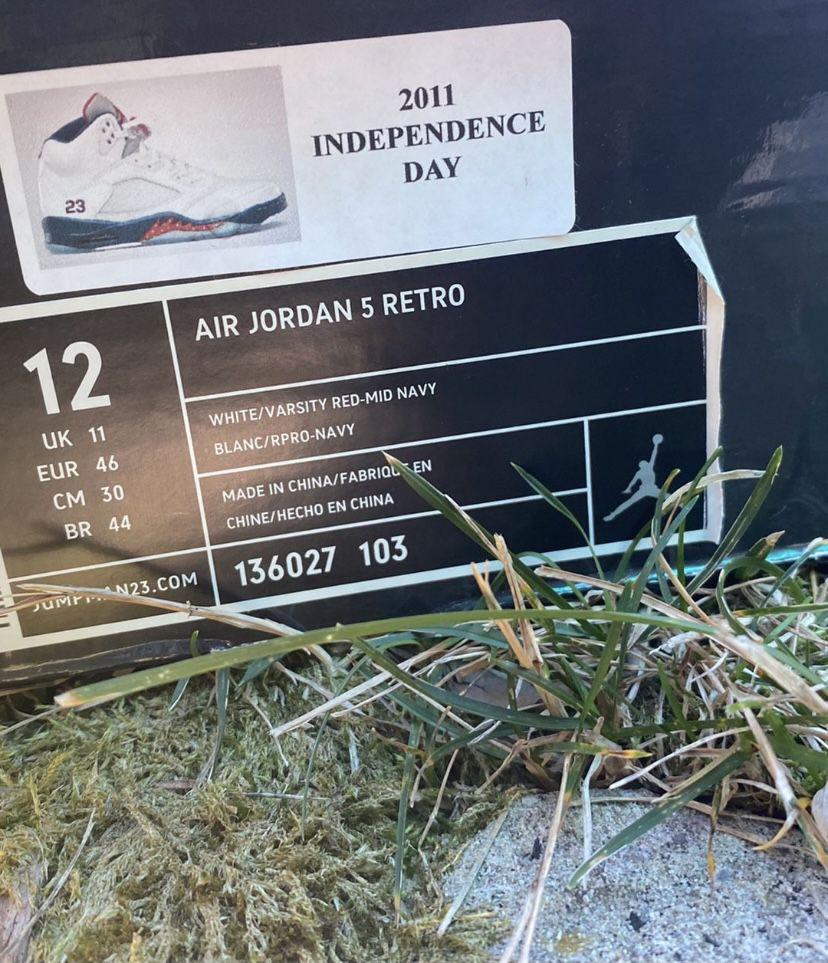 Jordan 5 Independence