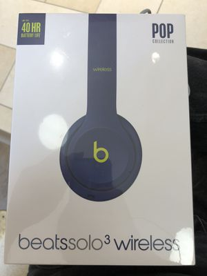 Beats Solo 3 Pop Collection Brand New Sealed for Sale in Alexandria, VA