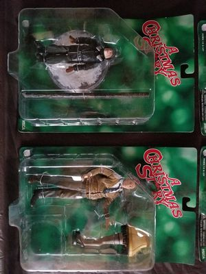 Christmas story action figures for Sale in Tinley Park, IL