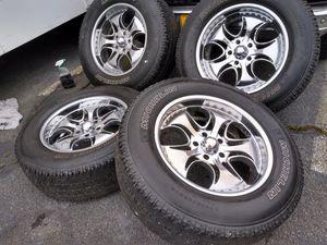 20. Rims for f150 5x5.5 Michelin for Sale in Manassas, VA