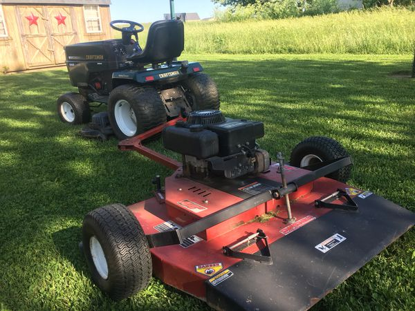 44 inch Swisher pull behind finish mowing for Sale in Urbana, OH - OfferUp