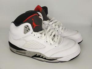 info for ab3f6 fdd8e Air Jordan 5 White Cement mens size 8 for Sale in Nashville, TN