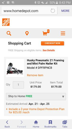 nail gun for Sale in Severn, MD