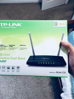 TP-Link AC1200 Archer C5 wireless router for Sale in St. Louis, MO