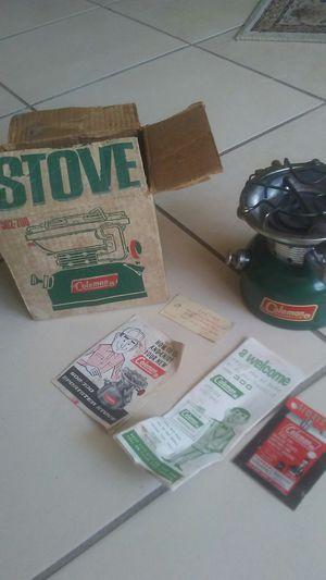 Photo Vintage Coleman cook stove 502 * Works