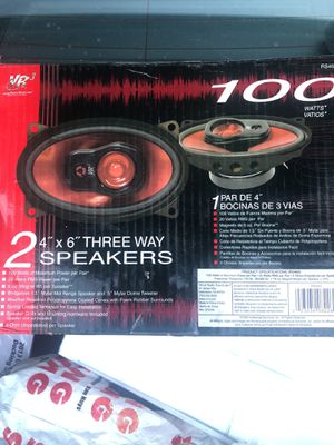 4x6 three way speakers brand new for Sale in Los Angeles, CA