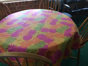 Round dining table set with four chairs. for Sale in Keswick, VA