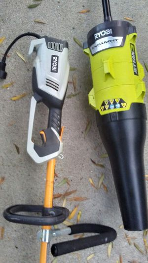 Ryobi 10-Amp Electric Power Head With attachments for Sale in Lawndale, CA