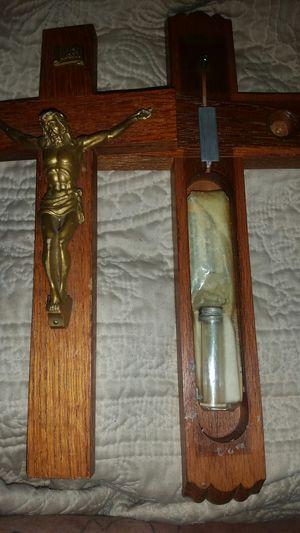 Catholic medicinal crucifix for Sale in Denver, CO