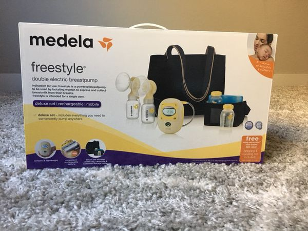 Medela Deluxe Freestyle Double Electric Breastpump For Sale In Ankeny Ia Offerup