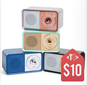 Vintage Radio Bluetooth Speaker for Sale in Orlando, FL