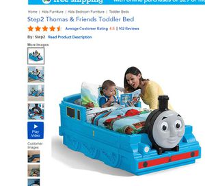 Thomas toddler bed (mattress included ) for Sale in Boston, MA