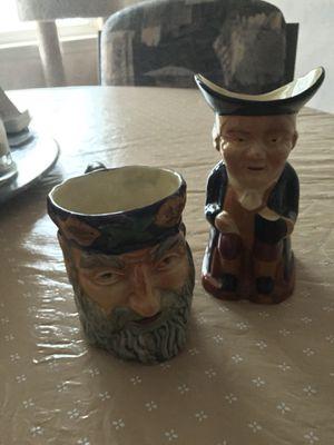 Vintage Staffordshire Mugs (2) for Sale in Rockville, MD