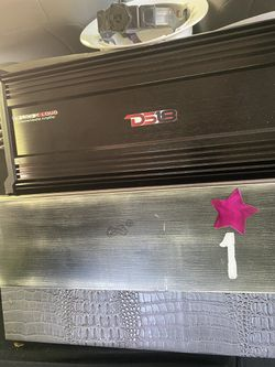 20 Inch PS1 Speaker Box And And 5000watt Amp System  Thumbnail