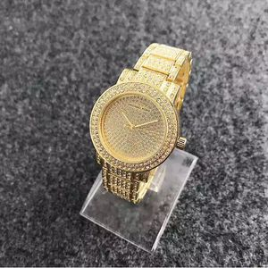 Mk Michael Kors gold Tone bling rhinestone watch for Sale in Silver Spring, MD